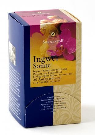 Ingwer Sonne-Tee bio, Beutel