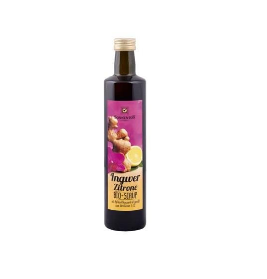 Ingwer-Zitronen-Sirup bio, 0,5 ltr.