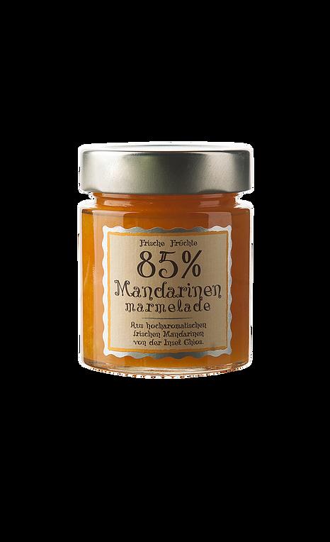 85% MANDARINEN, 180 g MARMELADE
