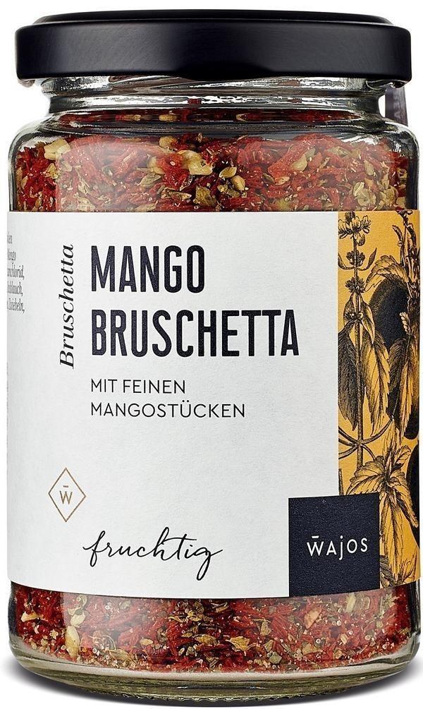 Mango Bruschetta 85g -Würzmischung  mit feinen Mangostücken