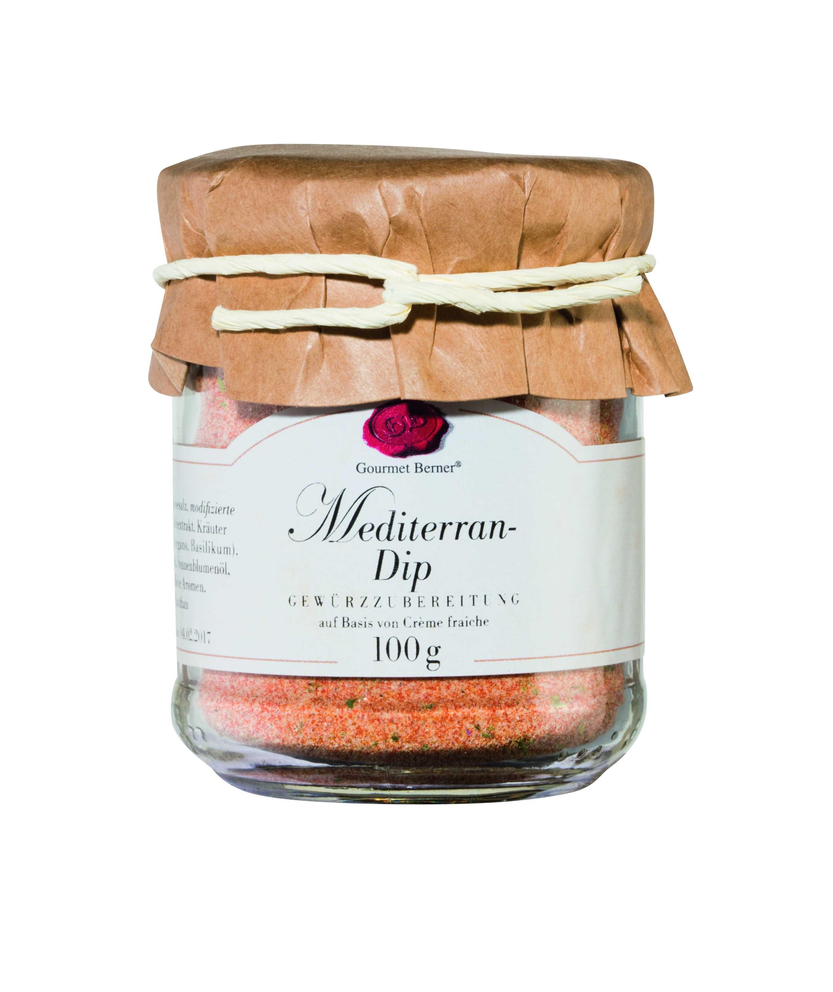 Mediterran-Dip 100g im Glas