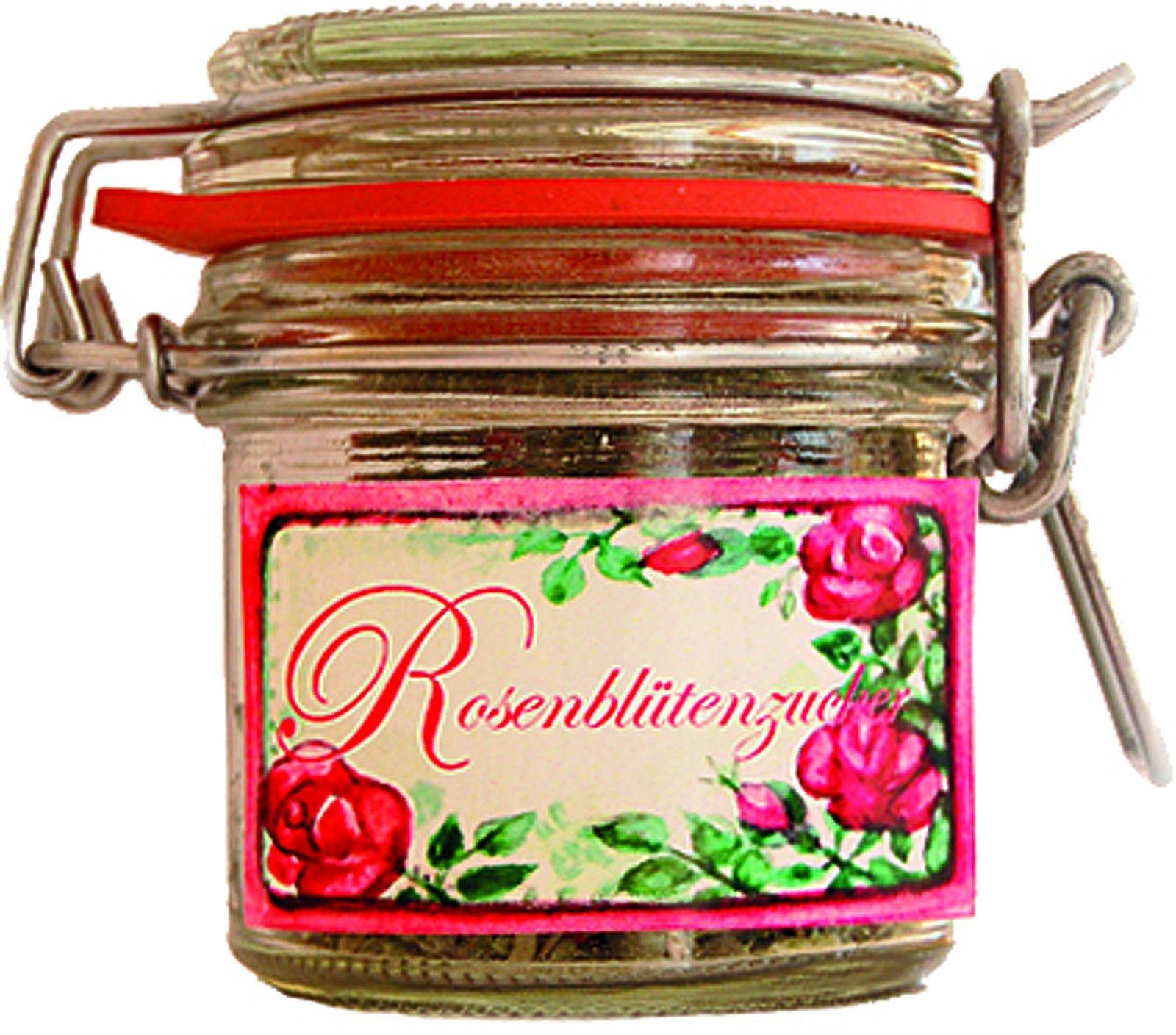 Lutzi´s Rosenblütenzucker