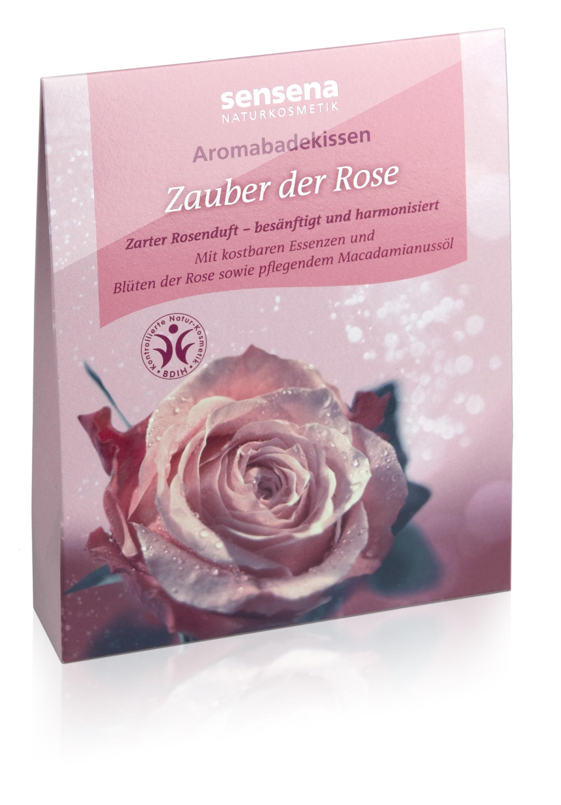 Aromabadekissen Zauber der Rose
