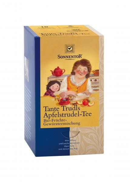 Tante Trudls Apfelstrudel-Tee bio