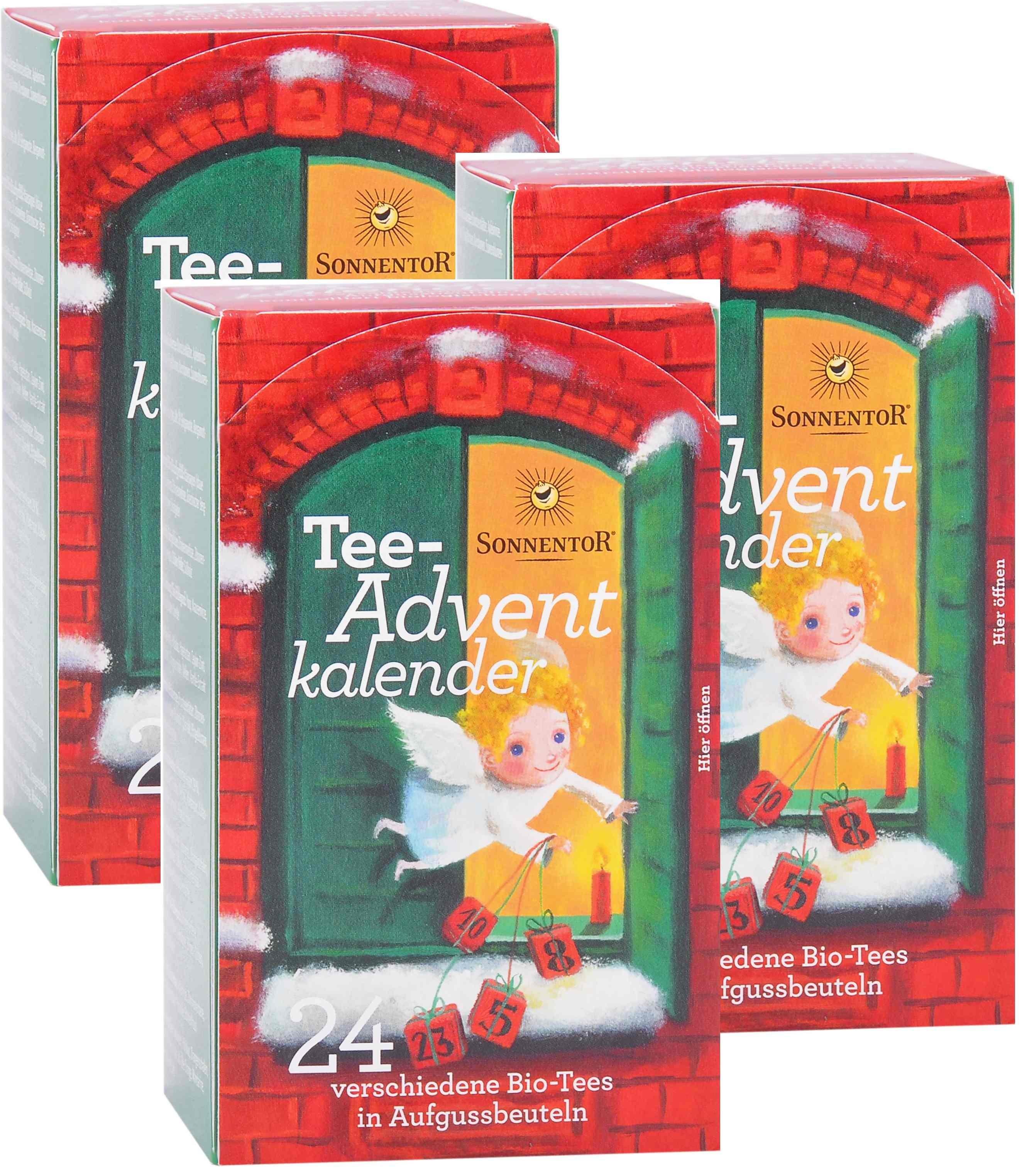 Advent-Tee Sonnentor 3er Set