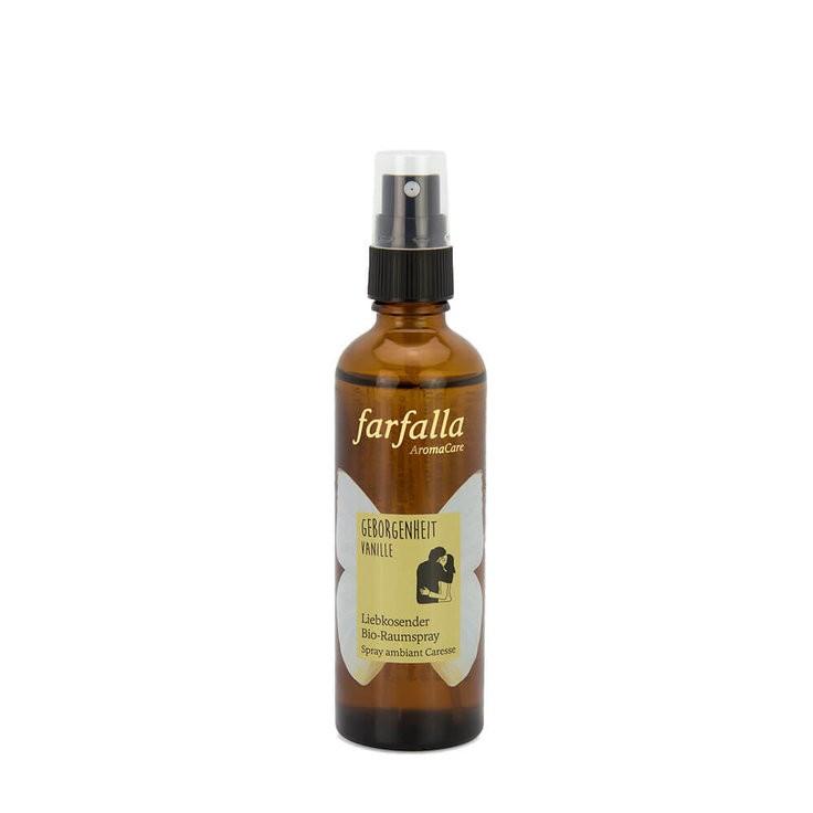 Bio-Raumspray Geborgenheit Vanille 75 ml Farfalla