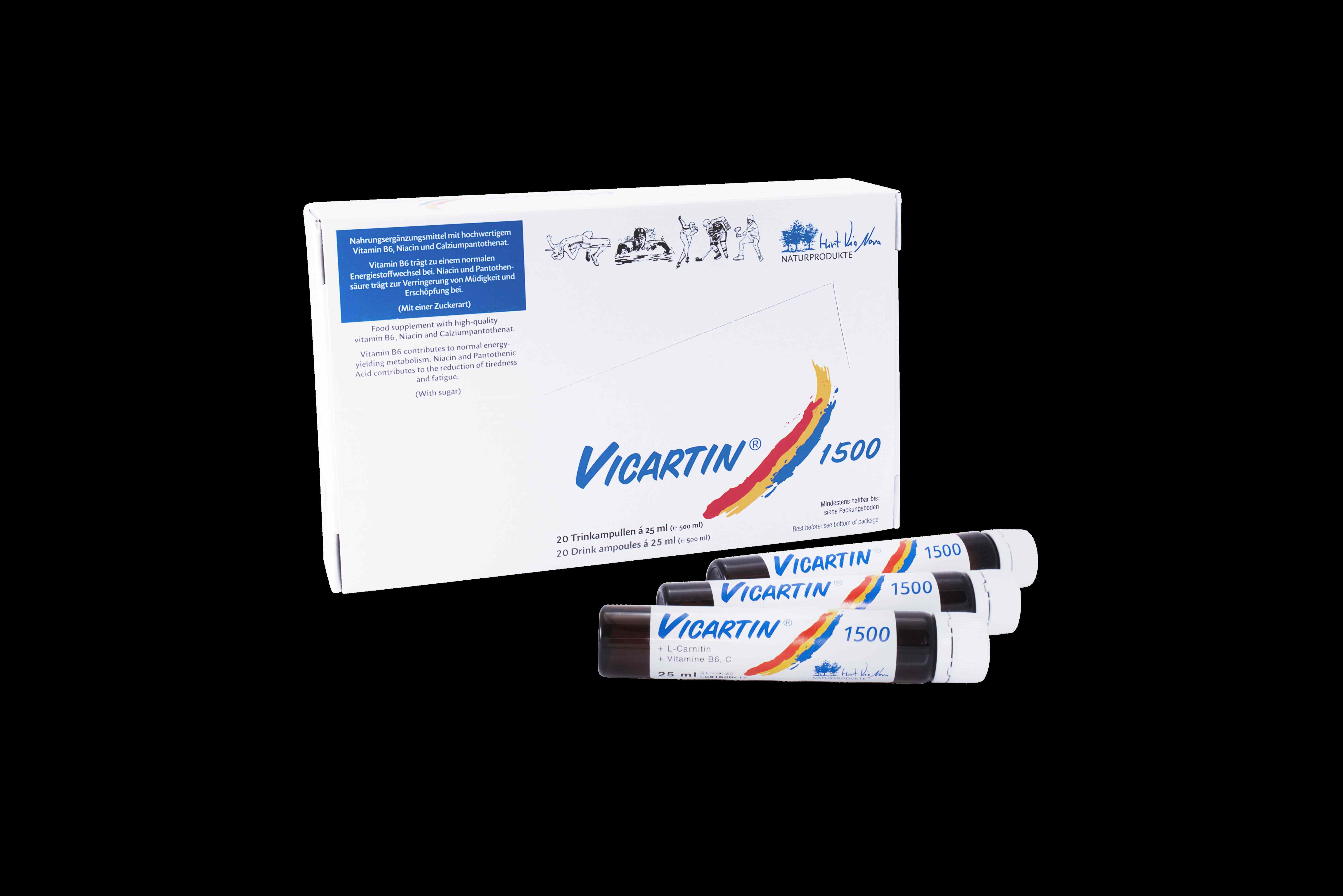 Vicartin 1500 - Trinkampullenkur zur Stärkung des Immunsystems