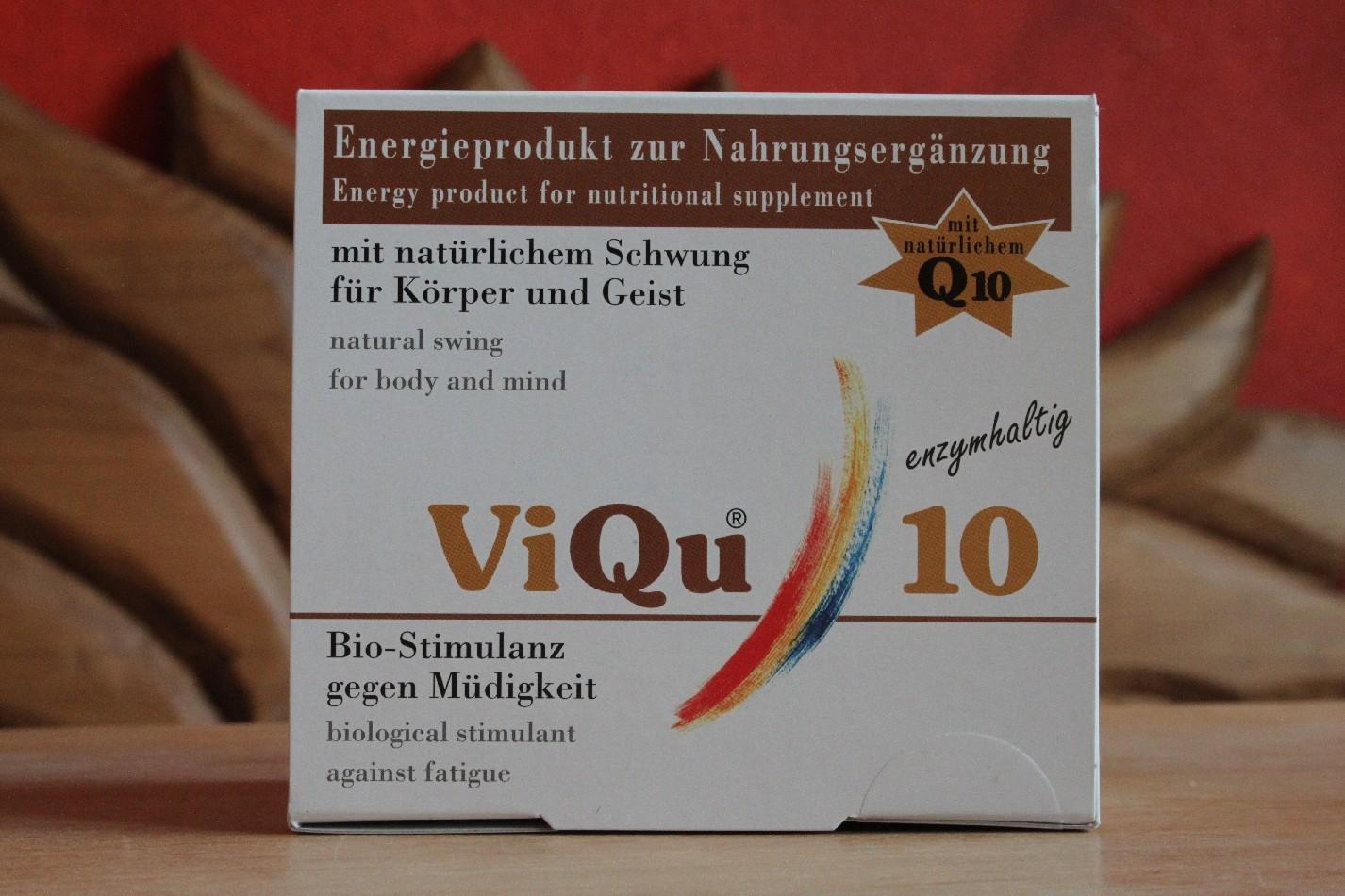 ViQu 10 Biostimulanz für mehr Energie an müden Tagen