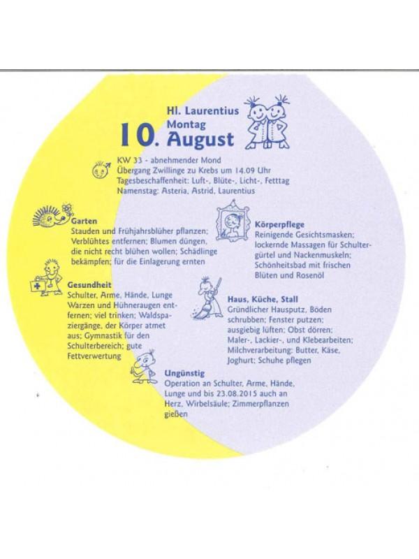 Lutzi's Mondkalender Rund 2017